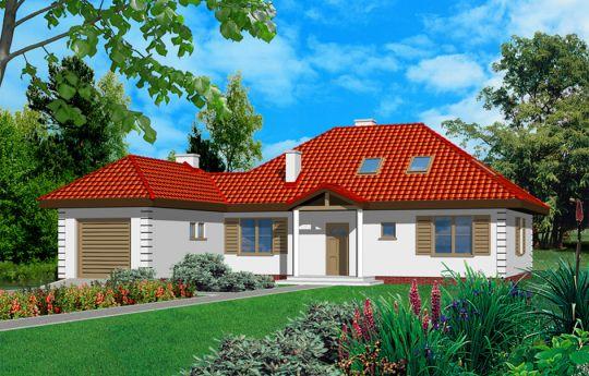 Проект дома Как Мечта 2 - визуализация, вид спереди