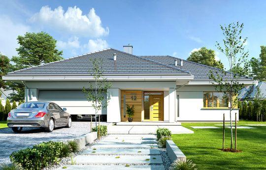 projekt domu Doskonały - front