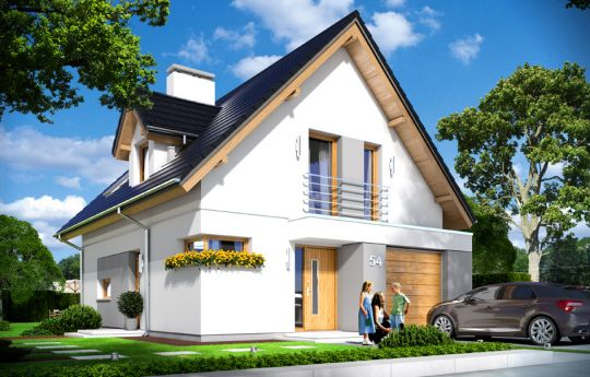 projekt-domu-na-swoim-wizualizacja-frontu