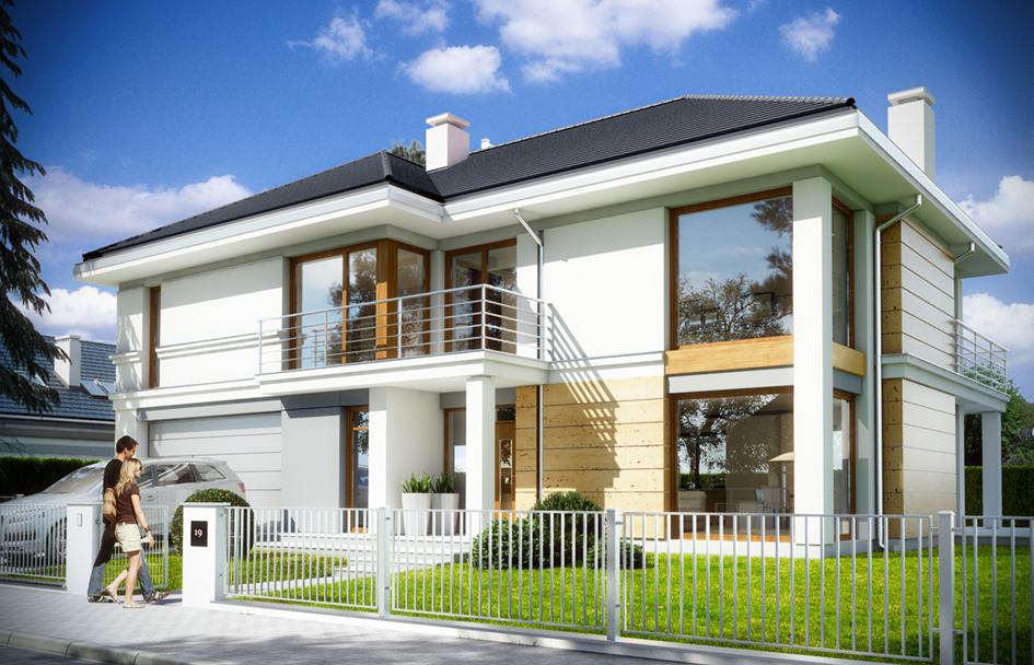 Дачный дом 5,5х6,6 м (58,3 кв м): проект дома, цена